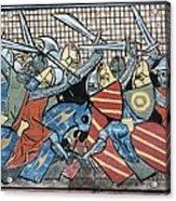 Danish Defeat. Illustration Acrylic Print