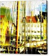 Danish Harbor Acrylic Print