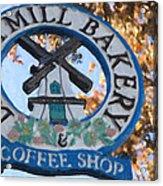 Danish Mill Bakery In Solvang California Acrylic Print