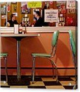 Dan's Diner Acrylic Print