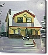 Dan's House Acrylic Print