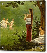 Dans La Prairie 1890 Acrylic Print