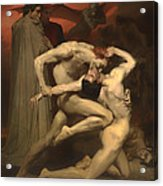 Dante And Virgil Acrylic Print