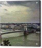 Danube River Acrylic Print