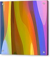 Dappled Light Panoramic Vertical 1 Acrylic Print