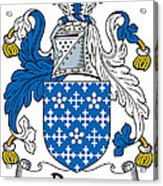 Darcy Coat Of Arms II Irish Acrylic Print