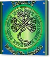Darcy Ireland To America Acrylic Print