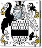 Dardis Coat Of Arms Irish Acrylic Print