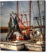 Darien Boats Acrylic Print