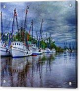 Darien Harbor Acrylic Print