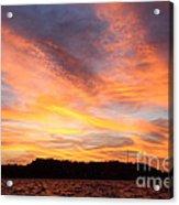 Darien Sunset Acrylic Print