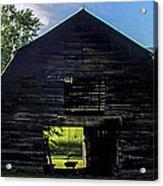 Dark Barn Acrylic Print
