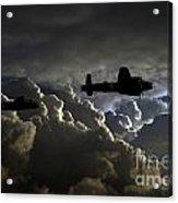 Dark Bombers  Acrylic Print