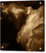 Dark Clouds Acrylic Print
