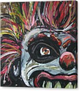 Dark Clown Acrylic Print