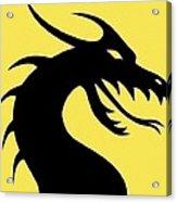 Dark Dragon Acrylic Print