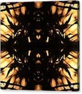 Dark Flame Of Nature Acrylic Print
