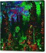 Dark Garden Acrylic Print