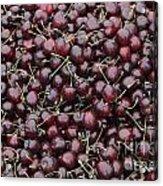 Dark Red Cherries For Sale Acrylic Print