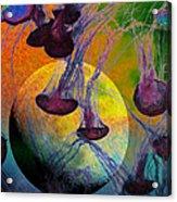 Dark Side Of The Moon 5d24939 Painterly M56 Acrylic Print