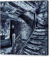 Dark Staircase Acrylic Print