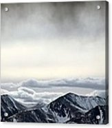 Dark Storm Cloud Mist  Acrylic Print