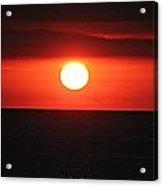 Dark Sun Rising Acrylic Print