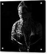 Dark Ties And Tattoos Acrylic Print