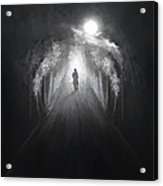 Dark To Light Acrylic Print