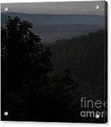 Dark Vista Acrylic Print