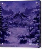 Dark Winter Acrylic Print