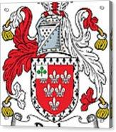 Darley Coat Of Arms Irish Acrylic Print