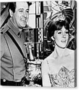 Darling Lili, From Left, Rock Hudson Acrylic Print