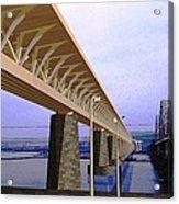 Darnitsky Bridge Acrylic Print