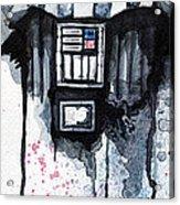 Darth Vader Acrylic Print by David Kraig