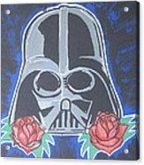 Darth Vader Tattoo Art Acrylic Print by Gary Niles
