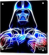 Darth Vader - The Force Be With You Acrylic Print