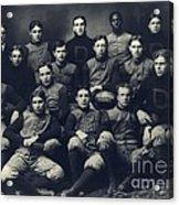 Dartmouth Football Team 1901 Acrylic Print by Edward Fielding