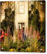 Darwin's Garden Acrylic Print by Jessica Jenney