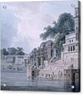 Dasasvamedha Ghat, Benares, Uttar Acrylic Print