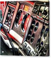 Dashboard 34639 Acrylic Print