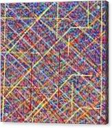 Data Structure Acrylic Print