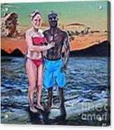 Date Night In Heaven Acrylic Print