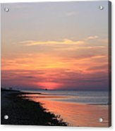 Dauphin Island Sunset Acrylic Print