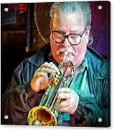 Dave Bendigkeit On Horn Acrylic Print