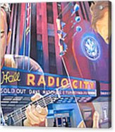 Dave Matthews And Tim Reynolds At Radio City Acrylic Print