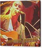 Dave Matthews At Vegoose Acrylic Print