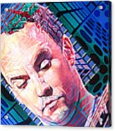 Dave Matthews Open Up My Head Acrylic Print by Joshua Morton