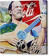 Dave Matthews Seek Up Acrylic Print