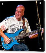 Dave Pegg Bass Player For Fairport Convention And Jethro Tull Acrylic Print